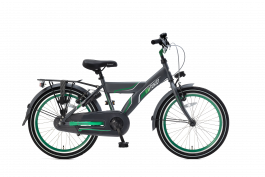 Popal Funjet X Jongensfiets 22 inch - Groen / Grijs