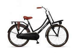 Altec Urban Transportfiets 24 inch - Mat Zwart