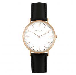 BLANCC Horloge Heren Classic 40mm Zwart Leer