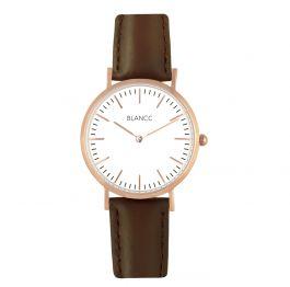 BLANCC horloge Dames Classic 36mm Leer Bruin