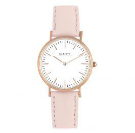 BLANCC Dames horloge Classic 36mm Leer Roze