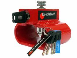 DoubleLock Triangle Lock aanhangerslot RED - SCM