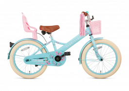 SuperSuper Little Miss Meisjesfiets 18 inch - Turquoise