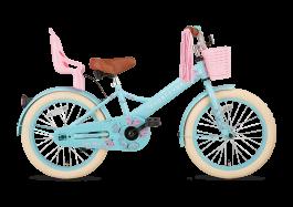 SuperSuper Little Miss Meisjesfiets 18 inch - Turquoise