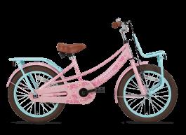 SuperSuper Lola Meisjesfiets 18 inch - Roze/Turquoise