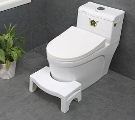 """ToiletSquat 7"""" Foldable - White"""