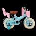 SuperSuper Little Miss Meisjesfiets 12 inch - Turquoise