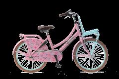 Popal Daily Dutch Basic+ Meisjesfiets 22 inch - Mint Roze