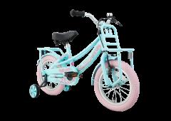 SuperSuper Lola 14 inch Meisjesfiets - Mint/Roze