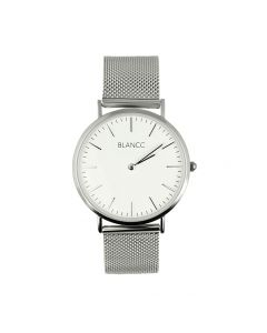 Blancc Mesh Horloge - Zilver