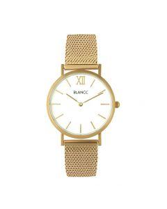 Blancc Mesh Horloge - Goud
