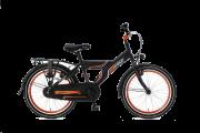 Popal Funjet X Jongensfiets 20 inch - Mat Zwart / Oranje