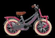 SuperSuper Lola Meisjesfiets 16 inch - Grijs/Roze